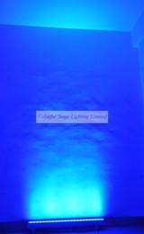 Free shipping High quality 24x3W RGB 3in1 Tri 1M LED Wall Wash Bar Light Tri Wall washer