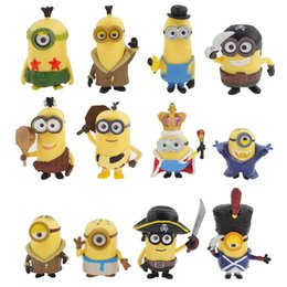 Wholesale Despicable Me Minion in Action Figures Halloween Day Minions Garden Ornament Miniature Figurine Fairy Decor Toys Doll