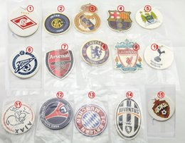Wholesale famous Europe football club teams fan party LOGO car room office home house air freshener custom design air fresheners