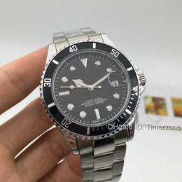 Wholesale 2016 Business fashion brand stainless steel automatic machinery watches cheap luxury brand sport mens watches
