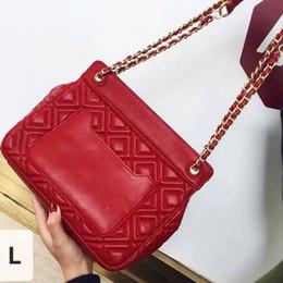 Wholesale hot sale new fashion tb chain handbag leather totes shoulder bag woman lady messenger bag styles