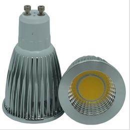 Super Bright E27 E14 MR16 GU10 Ampoules Led Dimmable Warm / Cool White 85-265V 3W 5W 7W COB LED de lampe led Spotlight à partir de mr16 blanc chaud torchis 5w fabricateur