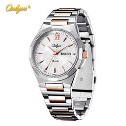 Wholesale Luxury Gogoey Watch Quartz Movement Couples Business Steel Belt Silver Big Face Watch Hot News Waterproof Watch Battery