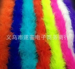 Wholesale Feather Strip Marabou Feather Boa Party Supplies Feather Crafts Feather Wedding Decoration Party Supplies Accessories Decor Event Gift DHL