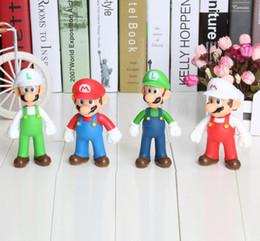 super Mario figure Luigi Mario Action Figures Toys Doll Stand MARIO & LUIGI Plush Doll Super Mario Bros Plush Toy 12cm
