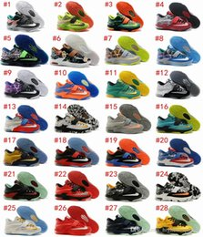 Wholesale NEW Brand Kevin Durant KD Basketball Shoes For Men Red Black Green High Quality Sports Sneakers Maxsize US7