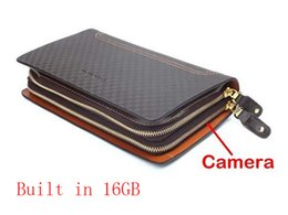 Cámaras ocultas bolsa en Línea-1920x1080P HD 16GB espía ocultos DVR bolsa de la cámara Cámara de bolsillo portátil Candid Mini cámara de bolsillo con control remoto HD Video Recorder