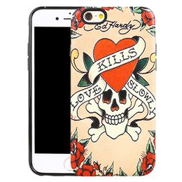Wholesale Skull Galaxy Note Cases - Saiboro Phone Case for iPhone 5 6 6s Plus 7 7Plus Galaxy J1 mini Note 5 S6Edge, Skull Shocking Impact Scratch-Resistant Protective Cases
