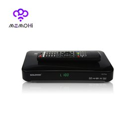Wholesale SOLOVOX F5S Plus Full p Satellite Receiver DVB S2 Decoder Support CCCAM MGCAM NEWCAM USB Wifi Youtube Youporn Web TV Google TV