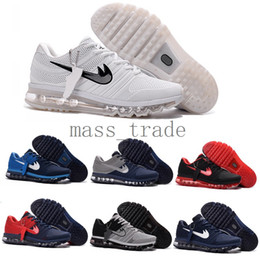 Wholesale cheap new air Mens sneakers maxes shoes KPU in White Black Red Blue Green Orange big size in top quality