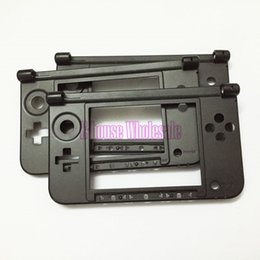 Wholesale Original Middle Frame Housing Case for Nintendo Best Quality Black Console Shell for DS LL DS XL