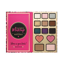 Wholesale Too Makeup Faced Nikkie Tutorials Eyeshadow Face Cosmestic Palette Too Blush Bronzer Highlighter Shadow Palette Vs Five Star Eyeshadow