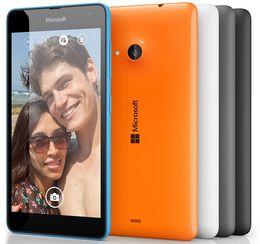 "Refurbished Original Nokia Lumia 535 Unlocked Cell Phones Windows Phone 8.1 5.0"" Quad Core RAM 1GB ROM 8GB 5MP"