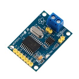 Wholesale MCP2515 CAN Bus Module Board TJA1050 Receiver SPI For MCU ARM Controller NEW Support CAN V2 B specification