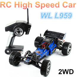 Wholesale Hot Wltoys L959 Scale Remote Control Racing Car OFF Road km hour ready to go Best gift for kid vs L202