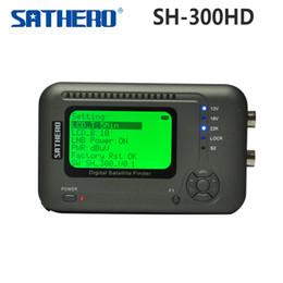 [Original] Sathero SH-300HD USB2.0 DVB-S / S2 HD Analizador de espectro digital satélites del buscador Sathero SH-300 Medidor digital 300HD orden $ 18Nadie trac hd sathero finder promotion desde buscador hd sathero proveedores