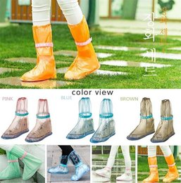 Wholesale SAFEBET rainshoes tourism antiskid rainproof boots waterproof set tall canister boots set of portable overshoes galoshes