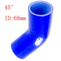 Wholesale Universal Samco quot ID mm Silicone Ply Straight Silicone Hose Intercooler Coupler Tube Pipe degree straight silicone tube hump hose