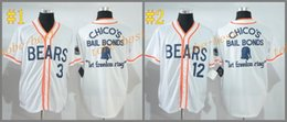 Wholesale Bad News Bears Kelly Leak tanner boyle white Cheap American Baseball Jerseys mens women kids Stitched Jersey