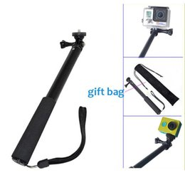 for GoPro Waterproof Monopod Tripod Extendable Sefie Monopod Stick Monopod Hero 4 3 xiaomi yi Monopod Accessories