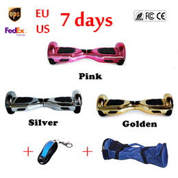 Wholesale 6 inch Chrome Hoverboard Wheel Electric Standing Scooter Speedway Smart Wheel Mini Skateboard Self Balancing Board UL