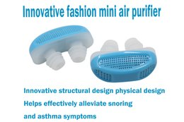 Wholesale Fashion portable mini air purifier filter effectively prevent snoring sleepy