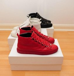 Wholesale Cool Pink High Heel Shoes - Luxury Brand Cool Man Shoes Casual Flat Outdoors Fahion High Top Multi Colors Lace-up Superstar Man Trainer Walking Shoes