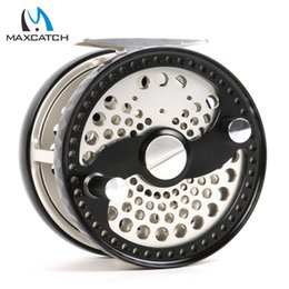 Wholesale Maximumcatch Classic Fly Fishing Reel WT WT WT WT Clicker Disc Drag System CNC Machine Cut T6061 Aluminum Fly Reel