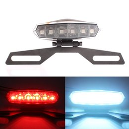 Wholesale Motorcycle Number License Plate Lamp Rear Brake Running Tail Integrated Light Quad Scooter Warning Light ATV Modification Part lt no track