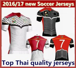 new 2016 2017 Palestine league Home Away soccer Jersey 16 17 best quality Palestine football shirt Free shipping