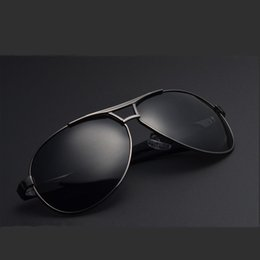 Wholesale Hot Men s Retro Polarized Sunglasses UV400 Sports Eyewear Driving Aviator Glasses Brand Design Sport Goggles Eyewear Cool