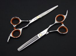 Wholesale Professional hair scissors high quality Hair Scissors Cutting and Thinning Scissors INCH or INCH barber scissors NEW HOT