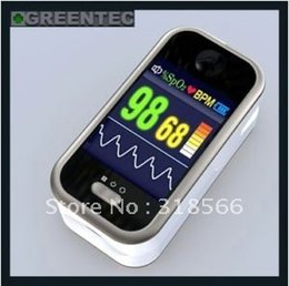 Brand New TFT Display Fingertip Pulse Oximeter with SPO2 monitor PC software