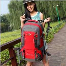 60L 2016 New Outdoor Mountaineering Bag Travelling Back Pack Hiking Backpack Cycling Backpack
