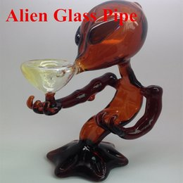 Wholesale 5 Colors G Spot Alien Surprise new Alien Glass pipes glass smoking pipes glass water pipes
