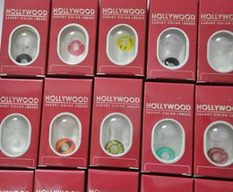 Wholesale Hollywood crazy lenses with case contact lenses cosplay color contacts crazy contact lens Halloween fancy cosplay contact lenses