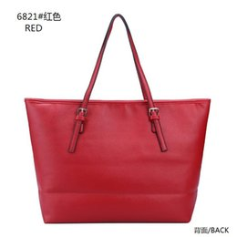 Wholesale Drop shipping colors Top quality fashion famous brand women casual tote bag travel jet set PU leather handbags