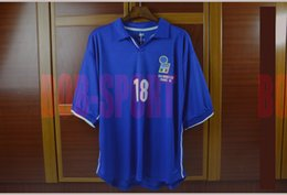 Wholesale HOT WC ITALY RETRO BAGGIO AWESOME DREAMER JERSEY