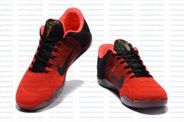 Wholesale 2016 Kobe XI Elite Low Basketball Shoes Men Original New Arrival Sneakers Cheap Retro Weaving Kobe Sport Boots Size Eur