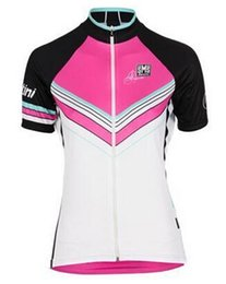 Wholesale Online Italy Girls Cycling Jersey Summer Women Short Sleeve Road Bike Clothing Quick Dry Bicycle Wear Riding Jerseys