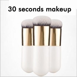 Wholesale HOT Explosion Selling upscale chubby pier foundation brush wet and dry makeup brush blush brush makeup artist Beauty tools