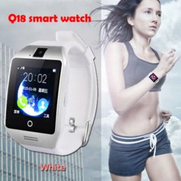 Wholesale Smart watch Q18 Bluetooth Wearable Device SIM Mobile GSM Android Smart baby Watch dz09 Phone Camera Touch Screen gt08 Skmei