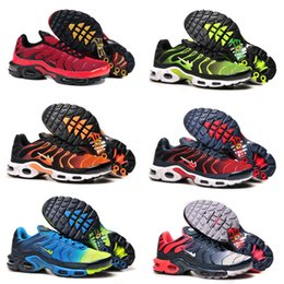 Wholesale 2016 New Tn Airs Shoes Mens Casual Shoes Mens Maxes TN Shoes Mens Sports Shoes Kids Sneakers Size