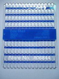 Wholesale Freeshipping Grid Nail Art Display Chart for Polish Gel Display Tool chart design chart rounds