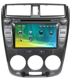 Wholesale 8 inch Car DVD Player for Honda CITY Car Radio Car entertainment With GPS BT CDC SD USB ATV RDS IPOD G SD Map Freeshipping