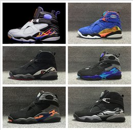 Wholesale Air Retro Aqua Black Purple Blue Men Basketball shoes retro Phoenix Sun Chrome Playoffs Black Blue Size