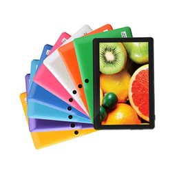 Wholesale 7 Inch Android4 tablet pc wifi dual camera G External quot tab pc LCD Quad Core Tablets Pc Benefit utility Pc