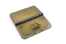 Acheter en ligne 3ds xl jeux-Original nouveau Pour le nouveau cas de couverture de logement de remplacement complet de console de jeu de 3DS LL / XL avec le verre