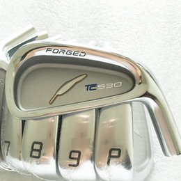 Hot sale New mens Golf Heads TC530 Forged Golf irons Heads 4-9P Irons set Golf clubs heads NO shaft Free shipping