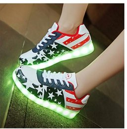 Hot Sale Colors luminous shoes led glow fashion USB rechargeable light led shoes for adults led Men's Shoes